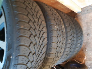 "Winter Tires  205/60R16  Tires & 16"" Rims"