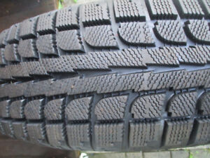 WINTER TIRES    225 / 65 /17  LIKE NEW  ( 97% NEW)