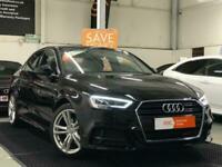 2017 Audi A3 1.6 TDI S line (s/s) 4dr Saloon Diesel Manual