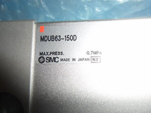 SMC MDUB63150D Plate Cylinder Double Acting Single Rod Series M Kitchener / Waterloo Kitchener Area image 6