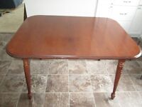 Solid Walnut Dining Room Table - Excellent condition