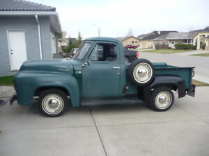 Mostly Stock 1953 Ford F-100 50th Anniversary Pick up
