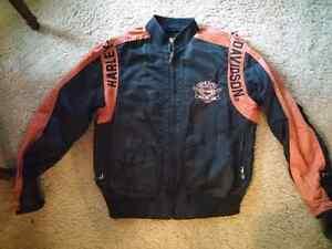 Harley-Davidson vinyl jacket $140.00