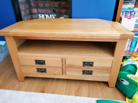 Creations oak TV cabinet