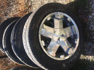 20 Milanni Wheels with tires
