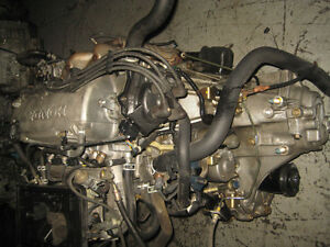 96 00 HONDA CIVIC SOHC ZC 1.6L NON VTEC ENGINE 5SPEED TRANS JDM