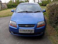 2007 Chevrolet Kalos SX,1.4 petrol, Automatic, 5 doors.82 000 mls on the clock. 9 months MOT.