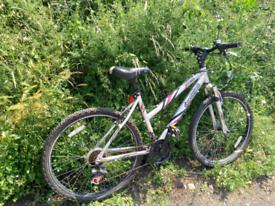 Ladies lightweight aluminium frame bike
