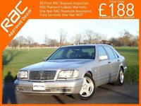1995 Mercedes-Benz S Class S500L LWB W140 Auto Sunroof Full Leather Heated Seats