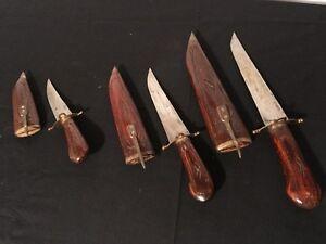 Wooden Knife Set for SALe