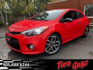 2015 Kia Forte Koup SX  -  - Leather Seats - Cloth Seats