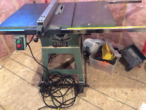 King Canada Industrial Table Saw