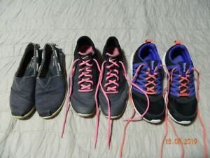 Women sneakers and walking shoes.