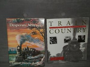 Several train books and prints suitable for framing Belleville Belleville Area image 2