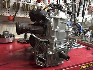 Fresh 2014 skidoo XM engine new pistons