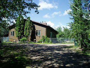ARDROSSAN 9.12 ACRES PRIVATE TREED CLOSE IN ONE OF A KIND HOME !