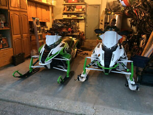Arctic Cat Snowmobile package with trailer