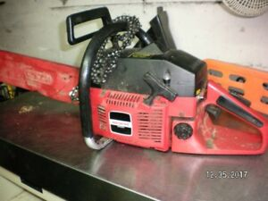 shop chainsaw clear out