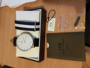 Daniel Wellington watch for men with two band