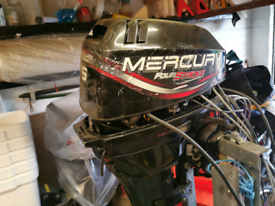 Mercury 15HP Outboard and Remotes