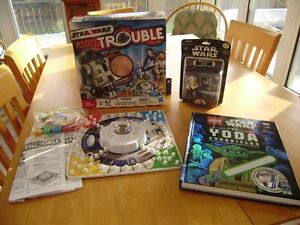 STAR WARS PUZZLES, GAME, LEGO BOOK AND FIGURE Windsor Region Ontario image 2