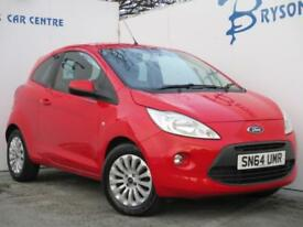 2014 64 Ford Ka 1.2 ( 69ps ) Zetec for sale in AYRSHIRE