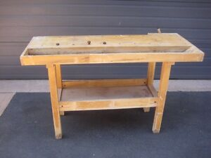 carpenter's work bench