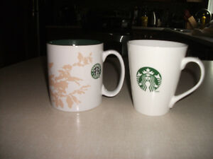lot of 11 starbucks mugs