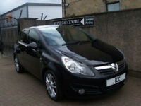 10 60 VAUXHALL CORSA 1.2 16V SXI SPORT 5DR BLACK ALLOYS CRUISE AIRCON PRIVACY