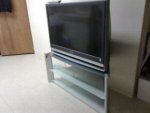 Sony  42 inch rear projection HD tv with sony stand