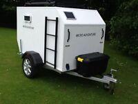 Caravan ,teardrop micro adventure,camping pod