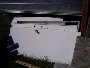 large quantity of doors and windows $100 all