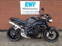 Triumph Speed Triple 1050, 2010, MINT, ONLY 19,301 MILES, FSH, LOTS OF EXTRAS