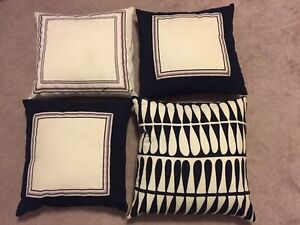 4 Decorative Throw Pillows