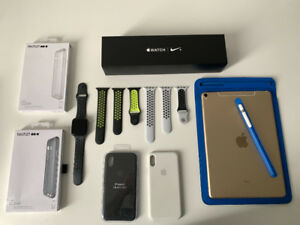 """Apple Watch s4 (44 MM) GPS+CELL➕ipad pro 10,5"""" (512 GB) GPS+CELL"""