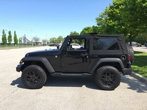2012 Jeep Wrangler 2 Door - Blacked Out