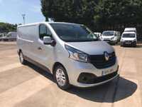 Renault Trafic Ll29 Energy Dci 120 Sport Van EURO 5 DIESEL MANUAL SILVER (2016)