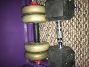 Selling weights