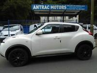 2011/11 NISSAN JUKE TEKNA 1.5DCI WHITE WITH BLACK LEATHER