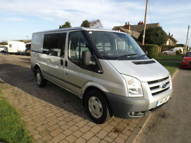 2011 11 Ford Transit Trend MWB 115 T350 NO VAT Air Con