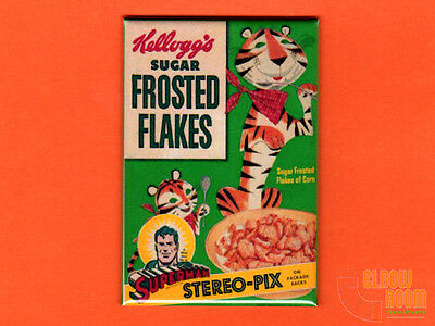 Vintage Frosted Flakes box art 2x3