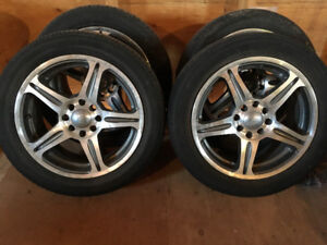 4 4/114.3 Aluminum Rims Great Condition