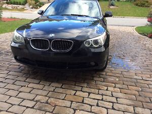 2007 BMW 5-Series 525xi Leather option Sedan