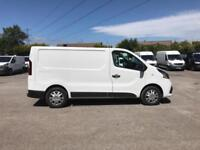 Renault Trafic Sl27 Dci 120 Business+ Van EURO 6 DIESEL MANUAL WHITE (2017)