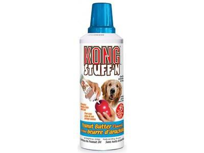 KONG Easy Treat Peanut Butter Flavor Paste 8oz for Puppy or Adult Dog Kong Toys