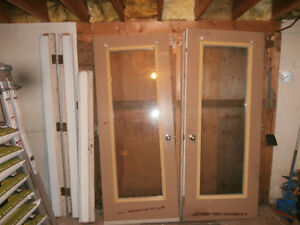 Used 5 Foot French Doors