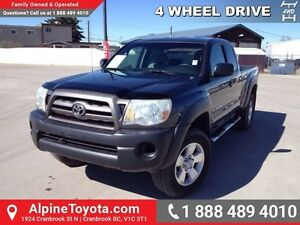 2009 Toyota Tacoma TACOMA 4X4   4cyl, manual, power locks, power