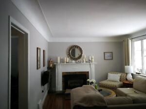 your new painter-locally owned interior painting service