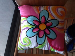 Flowered Cushion For Sale