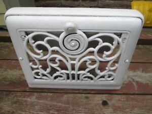 Antique Baseboard Heat Register